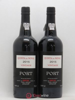 Porto Quinta Do Noval Axa Millésimes  2015 - Lot de 2 Bottles