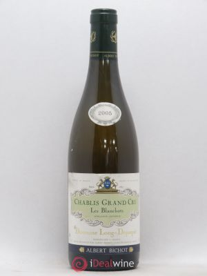 Chablis Grand Cru Blanchots - Long Depaquit Albert Bichot (Domaine)  2005 - Lot de 1 Bottle