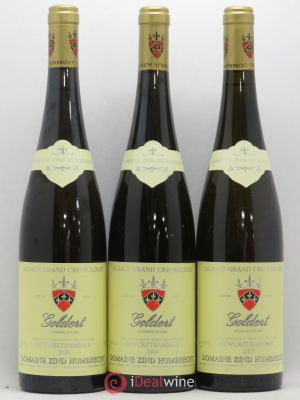 Gewurztraminer Grand Cru Goldert Zind-Humbrecht 2008 - Lot de 3 Bottles