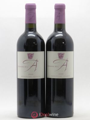 Domaine de l'A  2009 - Lot de 2 Bottles