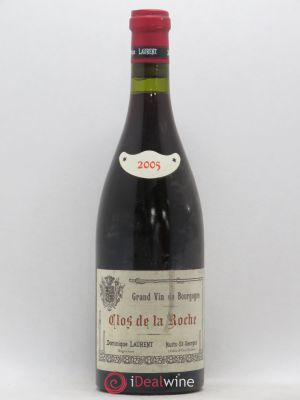 Clos de la Roche Grand Cru Vieilles vignes Intra-muros Dominique Laurent  2005 - Lot de 1 Bottle