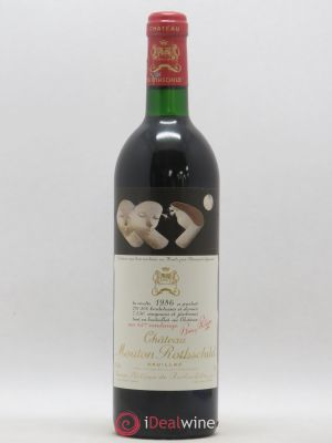 Château Mouton Rothschild 1er Grand Cru Classé  1986 - Lot de 1 Bottle