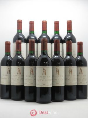 Bottle Château Latour 1er Grand Cru Classé  1990 - Lot de 12 Bottles