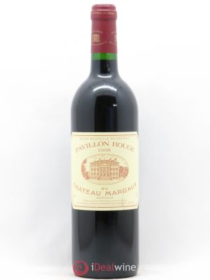 Pavillon Rouge du Château Margaux Second Vin  1998 - Lot de 1 Bottle