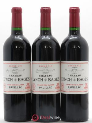 Château Lynch Bages 5ème Grand Cru Classé  2013 - Lot de 3 Bottles