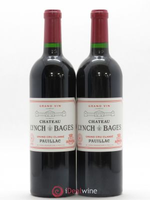 Château Lynch Bages 5ème Grand Cru Classé  2013 - Lot de 2 Bottles