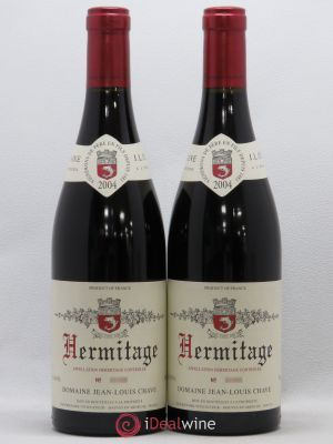 Hermitage Jean-Louis Chave  2004 - Lot de 2 Bottles