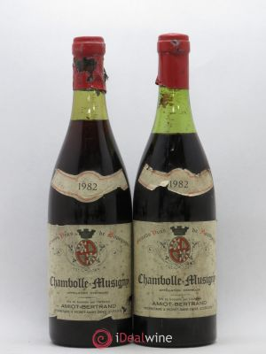 Chambolle-Musigny Amiot-Bertrand 1982