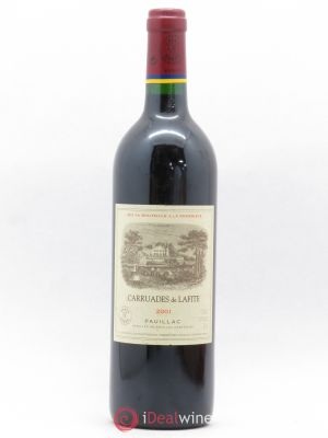 Carruades de Lafite Rothschild Second vin  2001 - Lot de 1 Bottle
