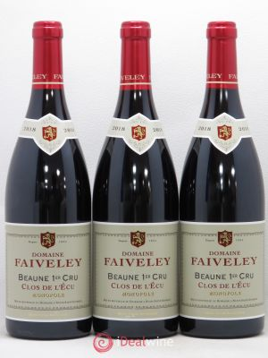Beaune 1er Cru Clos de l'Ecu Faiveley (Domaine)  2018 - Lot de 3 Bottles