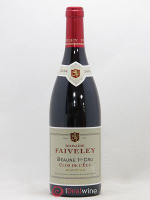 Beaune 1er Cru Clos de l'Ecu Faiveley (Domaine)  2018 - Lot de 1 Bottle