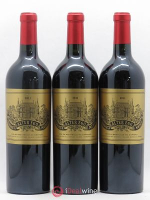 Alter Ego de Palmer Second Vin  2011 - Lot de 3 Bottles