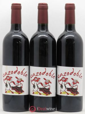 Vin de France Cazodoble Combes de Cazo 2012 - Lot de 3 Bottles