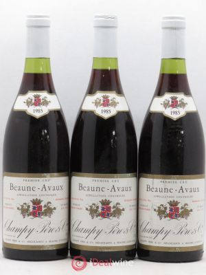 Beaune 1er Cru Avaux Champy 1985 - Lot de 3 Bottles