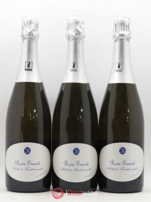 Vin de France Méthode traditionnelle Brut Rosé Granit Besson ---- - Lot de 3 Bouteilles