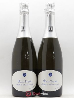 Vin de France Méthode traditionnelle Brut Rosé Granit Besson ---- - Lot de 2 Bouteilles