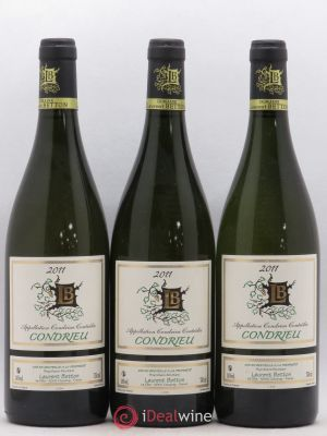 Condrieu Laurent Betton 2011 - Lot de 3 Bouteilles