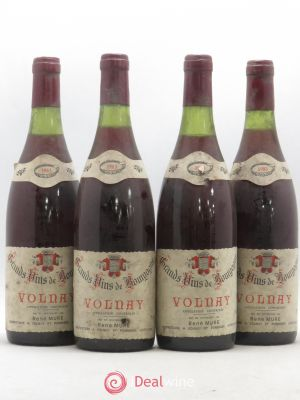 Volnay René Mure (no reserve) 1983 - Lot de 4 Bottles