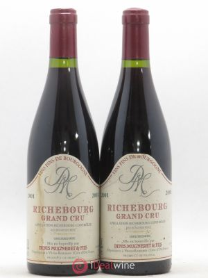 Richebourg Grand Cru Denis Mugneret 2001 - Lot de 2 Bouteilles