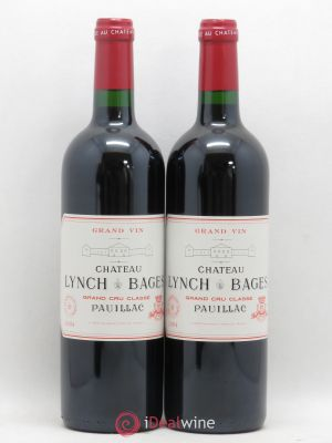 Château Lynch Bages 5ème Grand Cru Classé  2004 - Lot de 2 Bottles