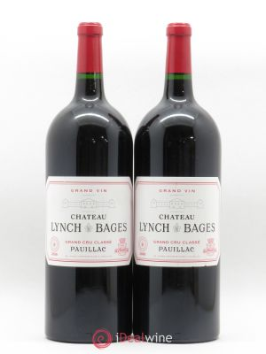 Château Lynch Bages 5ème Grand Cru Classé  2008 - Lot de 2 Magnums