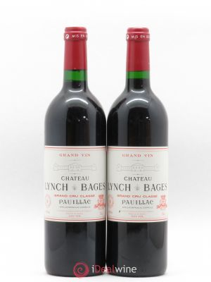 Château Lynch Bages 5ème Grand Cru Classé  1996 - Lot de 2 Bottles