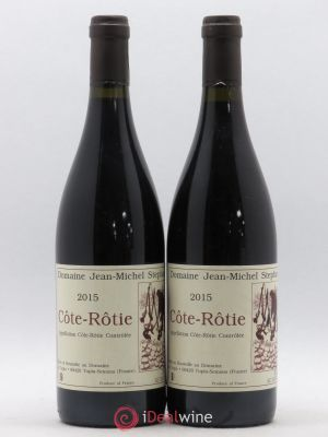 Côte-Rôtie Jean-Michel Stephan  2015 - Lot de 2 Bottles