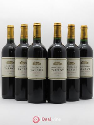 Connétable de Talbot Second vin  2009 - Lot de 6 Bouteilles