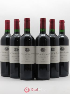 Saint-Émilion Grand Cru La Closerie de Fourtet 2009 - Lot de 6 Bouteilles