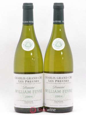 Chablis Grand Cru les Preuses William Fèvre (Domaine)  2004 - Lot de 2 Bottles