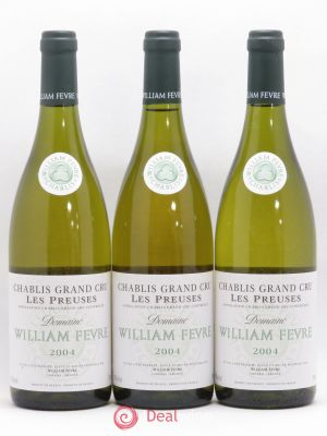 Chablis Grand Cru les Preuses William Fèvre (Domaine)  2004 - Lot de 3 Bottles