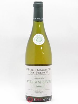 Chablis Grand Cru les Preuses William Fèvre (Domaine)  2004 - Lot de 1 Bottle