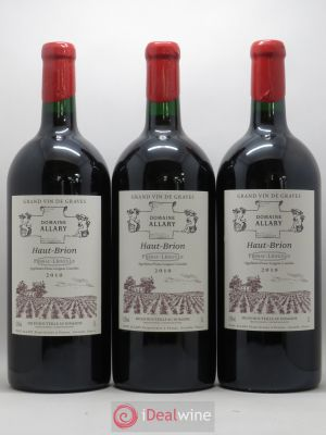 Domaine Allary Haut-Brion  2010 - Lot de 3 Double-magnums