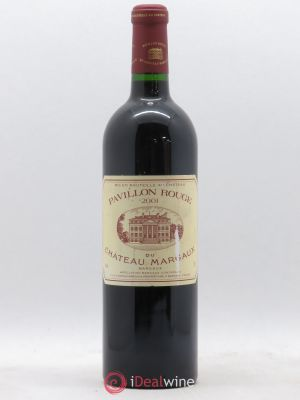 Pavillon Rouge du Château Margaux Second Vin  2001 - Lot de 1 Bottle