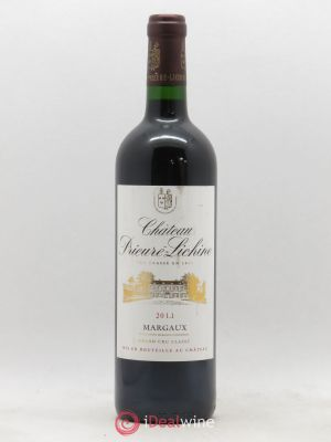Château Prieuré Lichine 4ème Grand Cru Classé  2011 - Lot de 1 Bottle