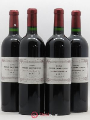 Saint-Émilion Grand Cru Château Moulin St Georges 2007