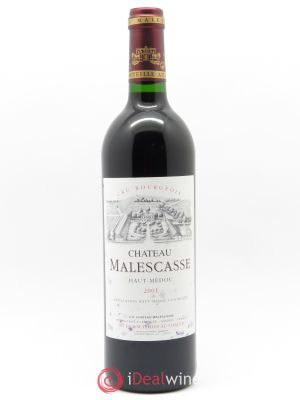 Château Malescasse Cru Bourgeois Exceptionnel  2001