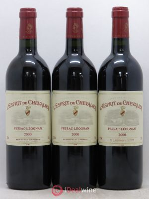 Esprit de Chevalier Second Vin  2000