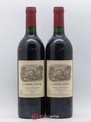 Carruades de Lafite Rothschild Second vin  1988