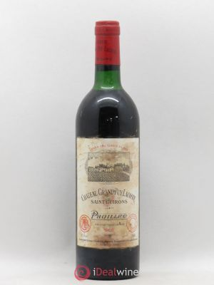 Château Grand Puy Lacoste 5ème Grand Cru Classé  1986 - Lot de 1 Bottle