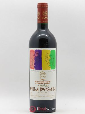 Château Mouton Rothschild 1er Grand Cru Classé  2001 - Lot de 1 Bottle