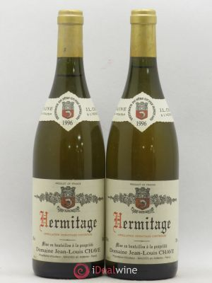 Hermitage Jean-Louis Chave  1996 - Lot de 2 Bottles