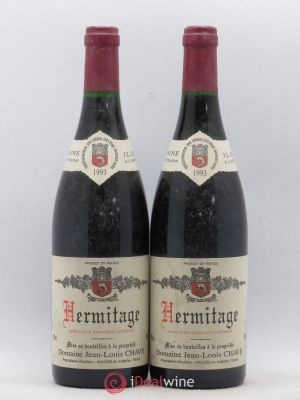 Hermitage Jean-Louis Chave  1993 - Lot de 2 Bottles