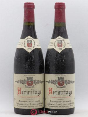 Hermitage Jean-Louis Chave  1994 - Lot de 2 Bottles