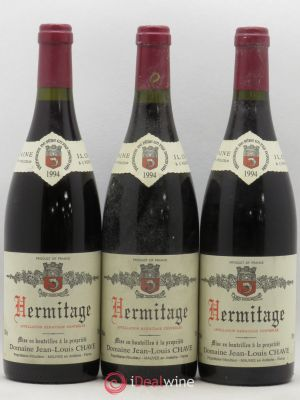 Hermitage Jean-Louis Chave  1994 - Lot de 3 Bottles