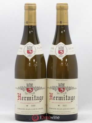 Hermitage Jean-Louis Chave  2007 - Lot de 2 Bottles