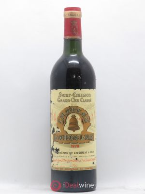 Château Angélus 1er Grand Cru Classé A  1978 - Lot de 1 Bottle