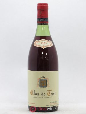 Clos de Tart Grand Cru Mommessin  1973 - Lot de 1 Bottle