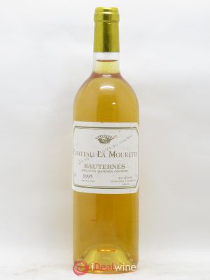 - Château La Mourette Sauternes  1995 - Lot de 1 Bottle