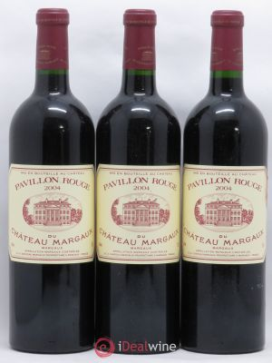 Pavillon Rouge du Château Margaux Second Vin  2004 - Lot de 3 Bottles